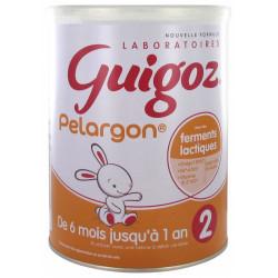 Guigoz Pelargon Lait 2ème Âge Dès 6 Mois Jusqu'à 1 An 800 g