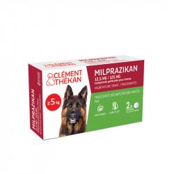 Milprazikan 12,5mg/125mg comprimés pelliculés pour chien x2