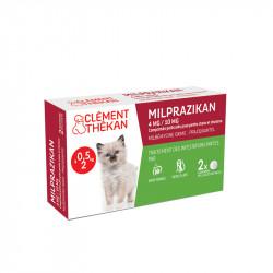 Milprazikan 4mg/10mg comprimés pelliculés pour chaton x2