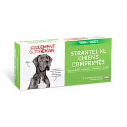Strantel Chien XL 2 comprimés