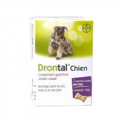 Drontal Chien 2 comprimés