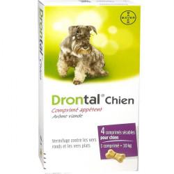 Drontal Chien 4 comprimés