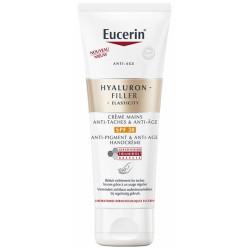 Eucerin Hyaluron-Filler + Elasticity Crème Mains Anti-Taches & Anti-Âge SPF30 75 ml