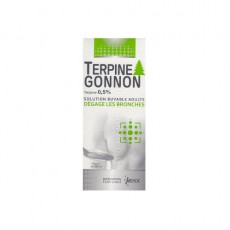 Terpine gonnon 0,5 pour cent solution buvable 200ml
