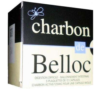 Charbon de Belloc 125 mg