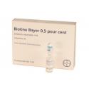 Biotine 5 mg solution injectable 6 ampoules chute de cheveux