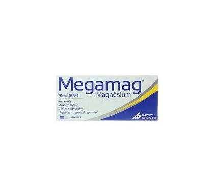 MEGAMAG 45MG GÉLULES