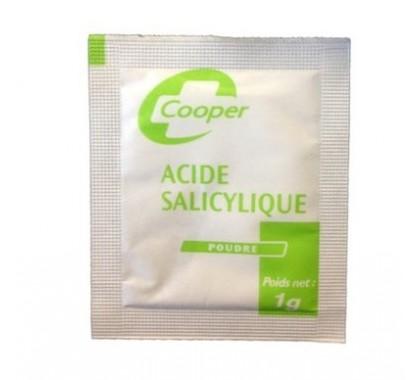 Acide Salicylique Poudre 1g 100 sachets