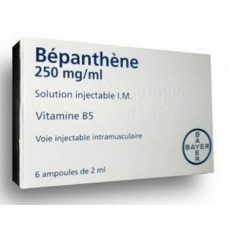 Bepanthene 250 mg/ml solution injectable I.M. 6 ampoules de 2ml