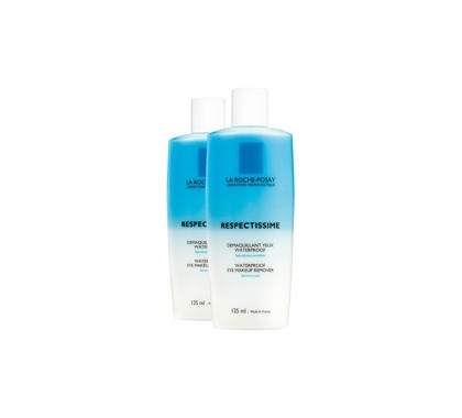 La Roche Posay respectissime démaquillant yeux waterproof duo 125ml
