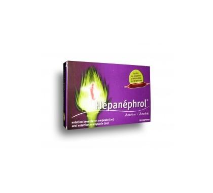 HEPANEPHROL solution buvable en ampoules