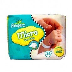 Pampers News baby micro 1-2.5kg 24 couches