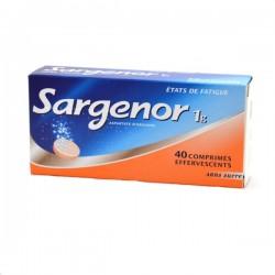 SARGENOR SANS SUCRE 1g comprimé effervescent édulcoré à la saccharine sodique