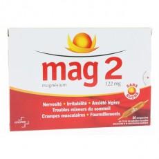 Mag 2 magnésium solution buvable