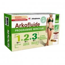 Arkopharma arkofluides programme minceur 30 jours 30 ampoules