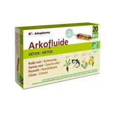Arkopharma arkofluide bio detox 20 ampoules