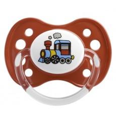 Dodie sucette silicone 2ème âge tracteur 1 sucette