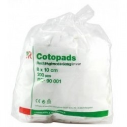 VELPEAU COTOPADS 200 RECTANGLES