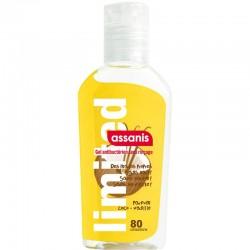 Assanis limited gel antibactérien vanille-coco 80ml