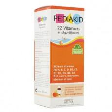 Pédiakid 22 vitamines et oligo-éléments sirop 125ml