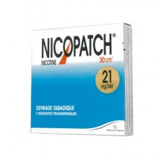 NICOPATCH 21mg/24h dispositif transdermique