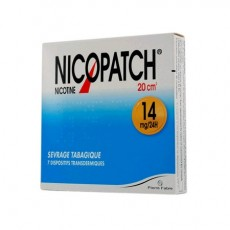 NICOPATCH 14mg/24h dispositif transdermique