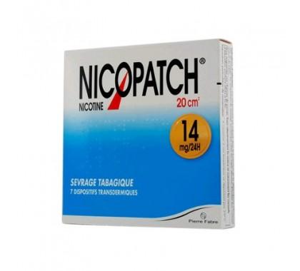NICOPATCH 14mg/24h dispositif transdermique