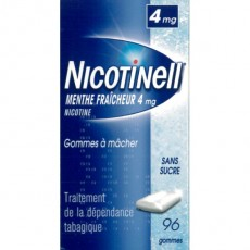 NICOTINELL 4MG MENTHE FRAICHE 96 GOMMES