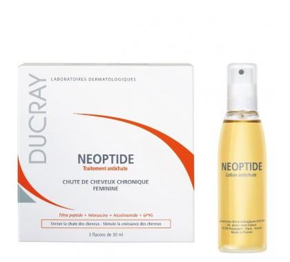 Ducray neoptide traitement anti-chute 3 flacons