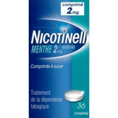 NICOTINELL MENTHE 2mg comprimé à sucer