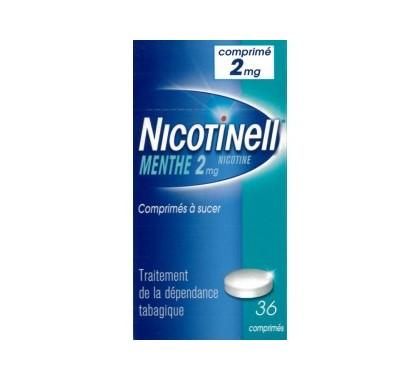 NICOTINELL MENTHE 2mg comprimé à sucer