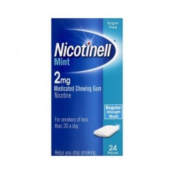 NICOTINELL MENTHE FRAÎCHEUR 2MG GOMME A MÂCHER