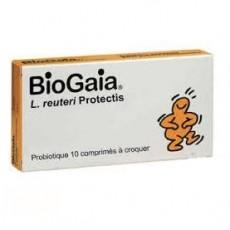 Biogaia probiotique système digestif 10 comprimés