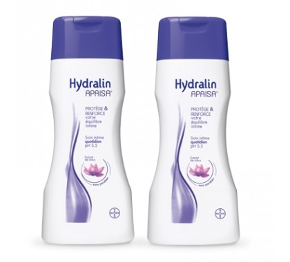 Hydralin apaisa soin intime quotidien 200ml x2