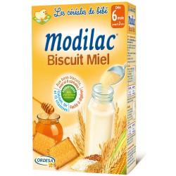 Modilac céréales biscuit miel 300g