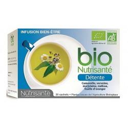 Nutrisante Infusion Bio Détente 20 sachets