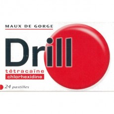 DRILL pastille à sucer
