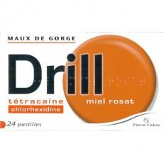 DRILL MIEL ROSAT pastille à sucer