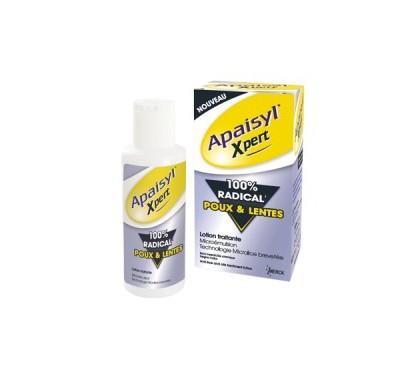 Apaisyl Xpert lotion anti-poux et lentes 100ml + peigne