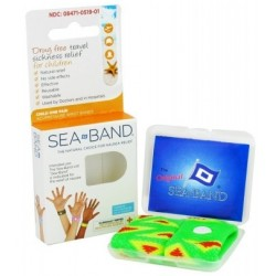 Sea band bracelet mal du transport enfant 2 bracelets