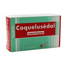 Coquelusedal nourrisson suppositoire 10 unités