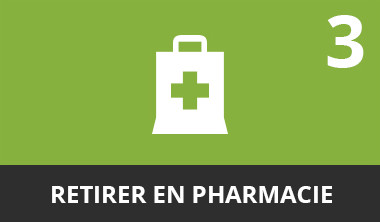 Retirer en pharmacie